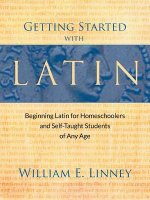 Getting Started with Latin