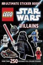 LEGO (R) Star Wars Villains Ultimate Sticker Book