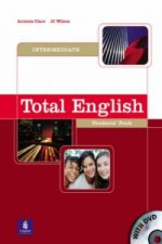 Total English Intermediate Students' Book and DVD Pack