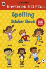 Ladybird Homework Helpers: Spelling Sticker Book