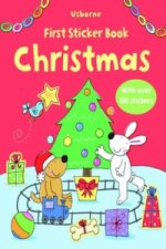 Usborne First Sticker Books Christmas