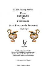 Italian Pottery Marks From Cantagalli To Fornasetti (Black a