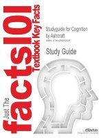 Outlines & Highlights for Cognition by Ashcraft