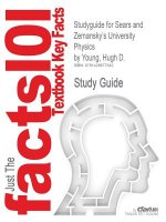 Outlines & Highlights for Sears and Zemanskys University Phy