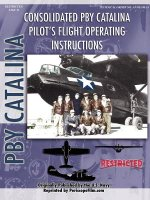 PBY Catalina Flying Boat Pilot's Flight Operating Manual