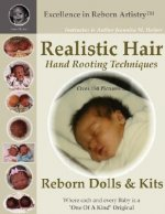 Realistic Hair for Reborn Dolls & Kits: Hand Rooting Techniq