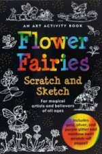 Sketch and Scratch Flower Fairies