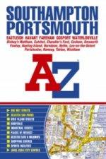 Southampton & Portsmouth A-Z Street Atlas