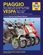 Piaggio and Vespa Scooters (with Carburettor Engines) Servic