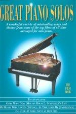 Great Piano Solos - Film Book