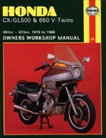 Honda CX/GL500 and 650 V-Twins 1978-86 Owner's Workshop Manu