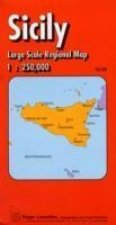 Sicily Regioanl Road Map