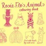 Rosie Flo's Animals Colouring Book - yellow