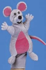 Jolly Phonics Puppet - Inky Mouse