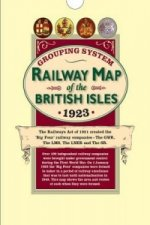Railway Grouping System Map of the British Isles 1923 (Folde