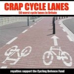 Crap Cycle Lanes