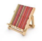 Stripy Wooden Medium Bookchair