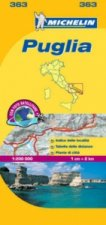 Puglia - Michelin Local Map 363
