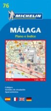 Malaga - Michelin City Plan