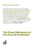 Visual Dictionary of Pre-press and Production