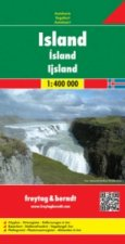 Iceland Road Map 1:400 000