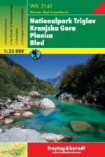 Nationalpark Triglav, Kranjska Gora, Planica, Bled 1: 35 000