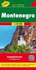 Černá Hora 1:150 000
