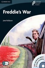 Freddie's War Level 6 Advanced Book with CD-ROM and Audio CD