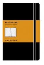 Moleskine Pocket Hardcover Ruled Notebook Black