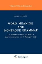 Word Meaning and Montague Grammar