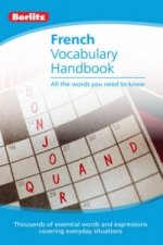 French Vocabulary Berlitz Handbook