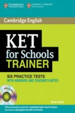 KET for Schools Trainer Six Practice Tests with Answers, Teacher's Notes and Audio CDs (2)