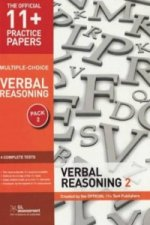11+ Practice Papers, Verbal Reasoning Pack 2 (Multiple Choic