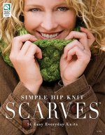 Simple Hip Knit Scarves