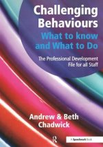 Challenging Behaviour What To Know & Do