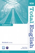 New Total English Elementary Workbook with Key and Audio CD Pack