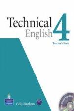 Technical English Level 4 Teacher's Book/Test Master CD-Rom Pack