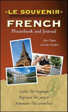 Souvenir French Phrasebook and Journal