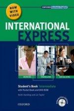 International Express: Intermediate: Student's Pack: (Student's Book, Pocket Book & DVD)