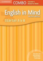 English in Mind Starter A and B Combo Teacher's Resource Boo