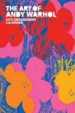 Art of Andy Warhol 2012 Engagement Calendar