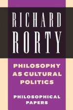 Philosophy as Cultural Politics
