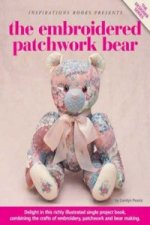 Embroidered Patchwork Bear