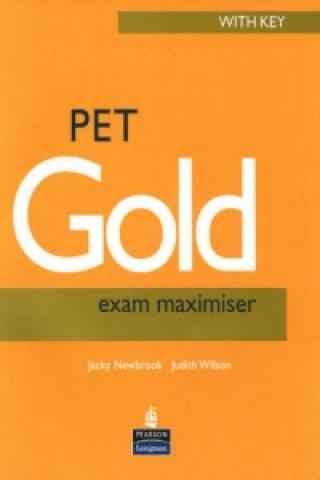 PET Gold Exam Maximiser with Key New Edition