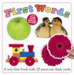 First Words Flash Card Book