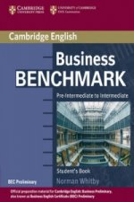 Business Benchmark Pre-Intermediate to Intermediate Student'