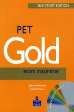 PET Gold Exam Maximiser with Key Self Study and CD Pack