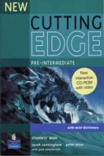 New Cutting Edge Pre-Intermediate Students Book and CD-ROM P