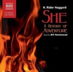 Haggard: She (A History of Adventure) (ABRIDGED)
