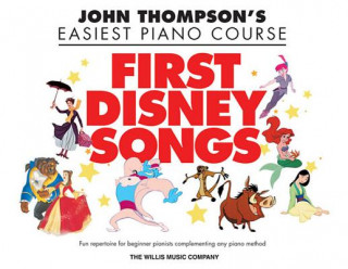 John Thompson's Piano Course First Disney Songs